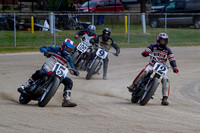 YORK PA FAIRGROUNDS ALL STAR FLAT TRACK BIKES 9-26-2015-6924