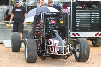 SUSQUEHANNA SPEEDWAY YORK HAVEN PA USAC SPRINTS & ARDC MIDGETS 6-8-2014-0990