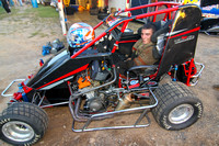 LINDAS SPEEDWAY RONNIE DUNSTAN TRIBUTE NIGHT 600 WINGLESS MICROS,270 MICROS,LEGENDS & SLINGSHOTS 8-29-2014-0053