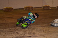 TIMONIUM MD FAIRGROUNDS INDOOR FLAT TRACK BIKES 12-21-2013