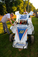 LINDAS SPEEDWAY RONNIE DUNSTAN TRIBUTE NIGHT 600 WINGLESS MICROS,270 MICROS,LEGENDS & SLINGSHOTS 8-29-2014-0040