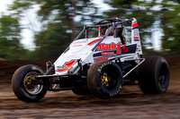 GAS CITY INDIANA USAC SPRINTS 7-11-2014