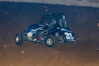 SHELLHAMMERS SPEEDWAY LEESPORT PA 270 WINGLESS MICRO SPRINTS & SLINGSHOTS 9-24-2014-3072
